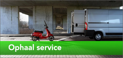 Ophaal service